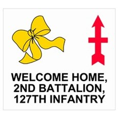 Welcome Home <BR>127th Infantry Poster