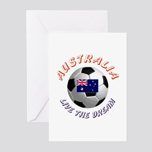 Australia world cup Greeting Cards (Pk of 10)