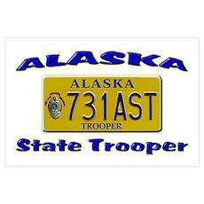 Alaska State Trooper Poster