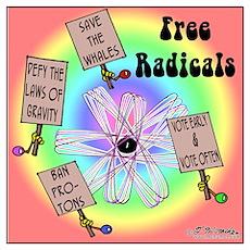 Free Radicals Poster