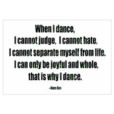 Why I Dance Canvas Art