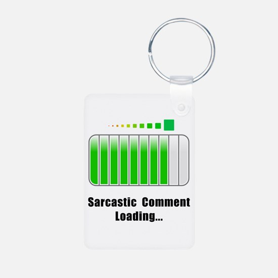 Sarcastic Comment Loading Keychains