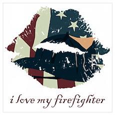 Firefighter Kiss Poster