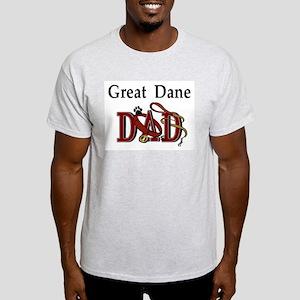 Great Dane Dad Ash Grey T-Shirt