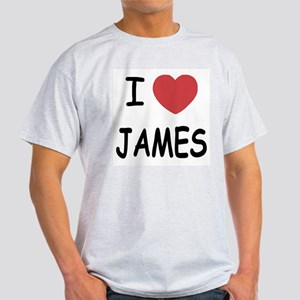 I heart James Light T-Shirt
