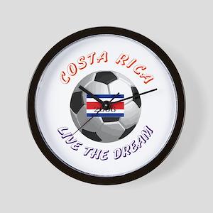 Costa Rica world cup Wall Clock