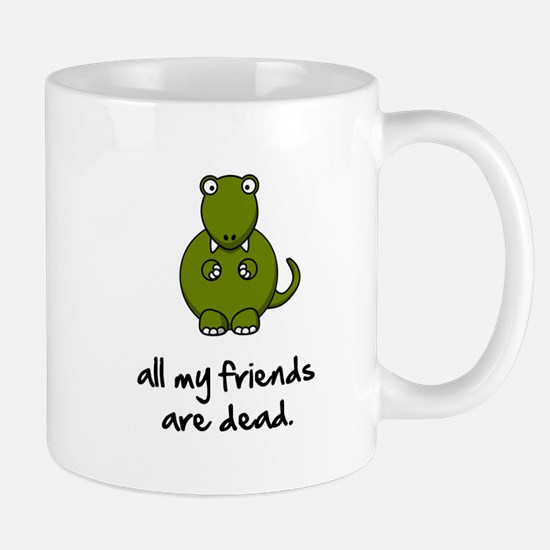 Dinosaur Friends Dead Mug