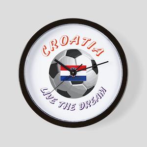 Croatia world cup Wall Clock