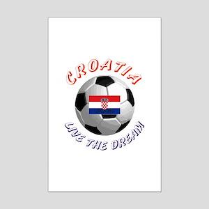 Croatia world cup Mini Poster Print