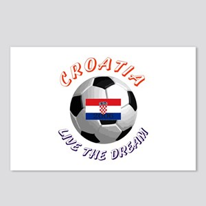 Croatia world cup Postcards (Package of 8)