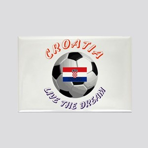 Croatia world cup Rectangle Magnet