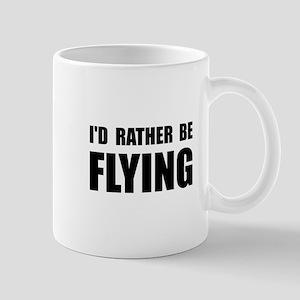 Rather Be Flying Mug