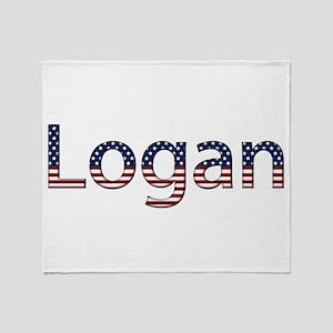 Logan Stars and Stripes Throw Blanket
