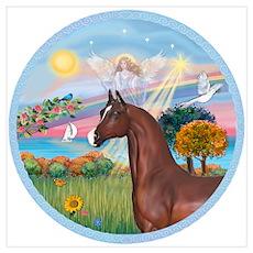 Angel/Horse (Ar-Brn) Poster