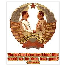 Genocidal Tyrants Agree on Gu Poster