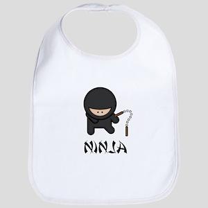 Ninja Nunchuck Bib