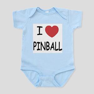 I heart pinball Infant Bodysuit