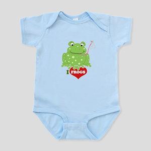 Toadily Frog Infant Bodysuit