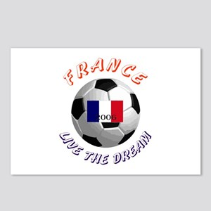France world cup Postcards (Package of 8)