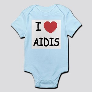 I heart Aidis Infant Bodysuit