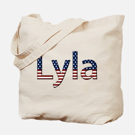 Lyla Stars and Stripes Tote Bag