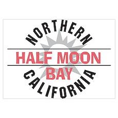 Half Moon Bay California Poster