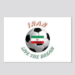 Iran world cup Postcards (Package of 8)
