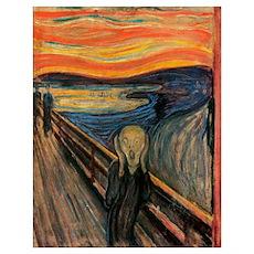 The Scream Skrik Poster