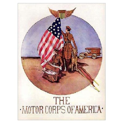 The Motor Corps of America Poster