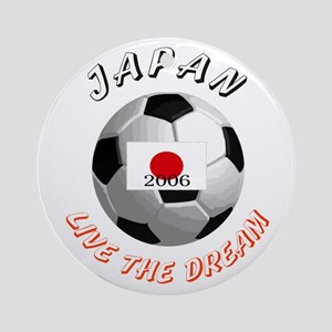Japan world cup Ornament (Round)