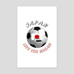 Japan world cup Mini Poster Print