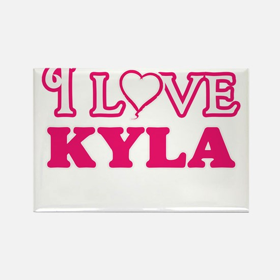 I Love Kyla Magnets