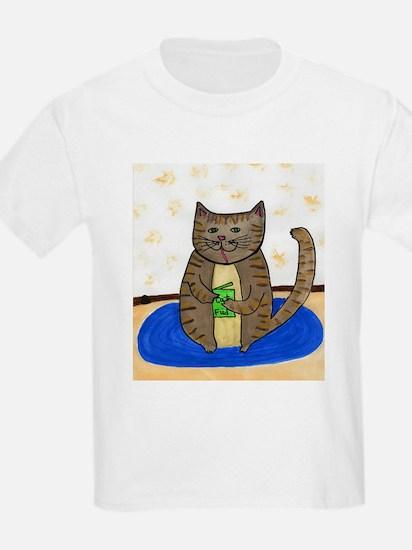 Fat Cat Kid's Light T-Shirt