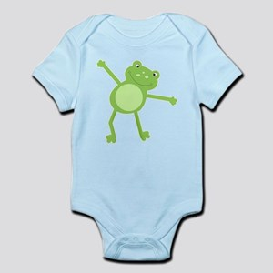 Green Leap Frog Infant Bodysuit