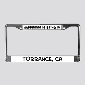 Happiness is Torrance License Plate Frame