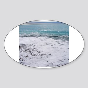 Big waves in Nice Sticker