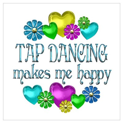 Tap Happiness Poster