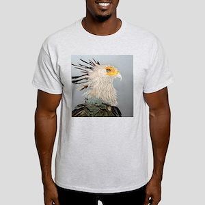 Secretary Bird Ash Grey T-Shirt