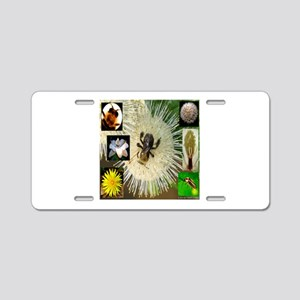 Photo Collage Flora and Fauna Aluminum License Pla