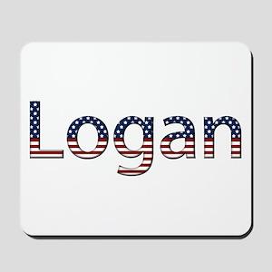 Logan Stars and Stripes Mousepad