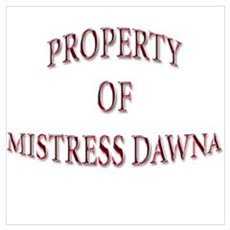 Misress Dawna Framed Print