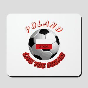 Poland world cup Mousepad
