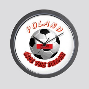 Poland world cup Wall Clock