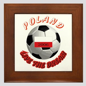 Poland world cup Framed Tile
