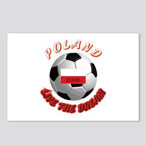 Poland world cup Postcards (Package of 8)