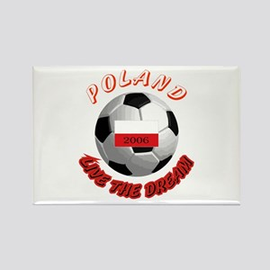 Poland world cup Rectangle Magnet