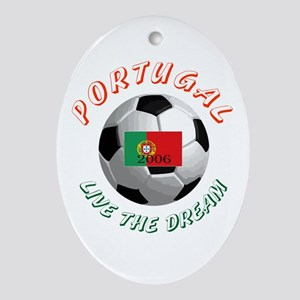 Portugal world cup Oval Ornament