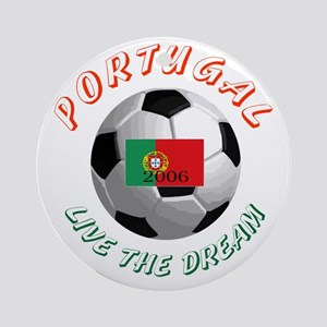 Portugal world cup Ornament (Round)