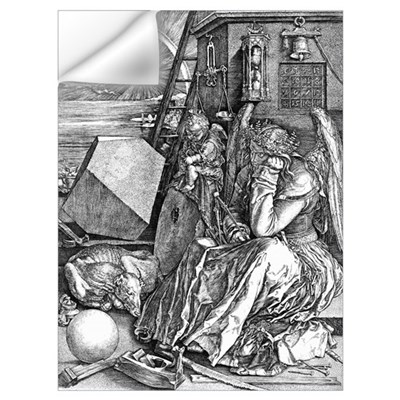 Melencolia by Durer Wall Decal