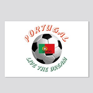 Portugal world cup Postcards (Package of 8)